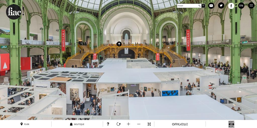 Visite virtuelle de la Fiac 2015